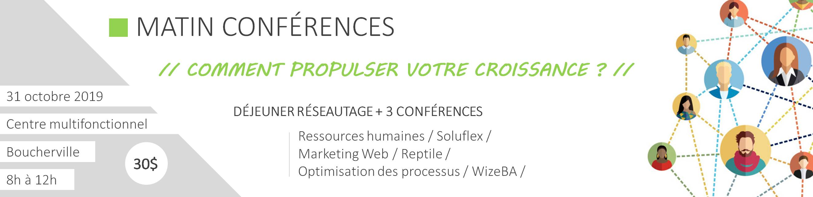 Affiche matin conférence Soluflex SW